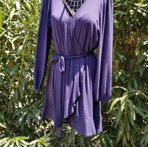 NWOT Sexy wrap dress with long sleeves by B.P.